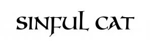 sinful cat logo for printer-1